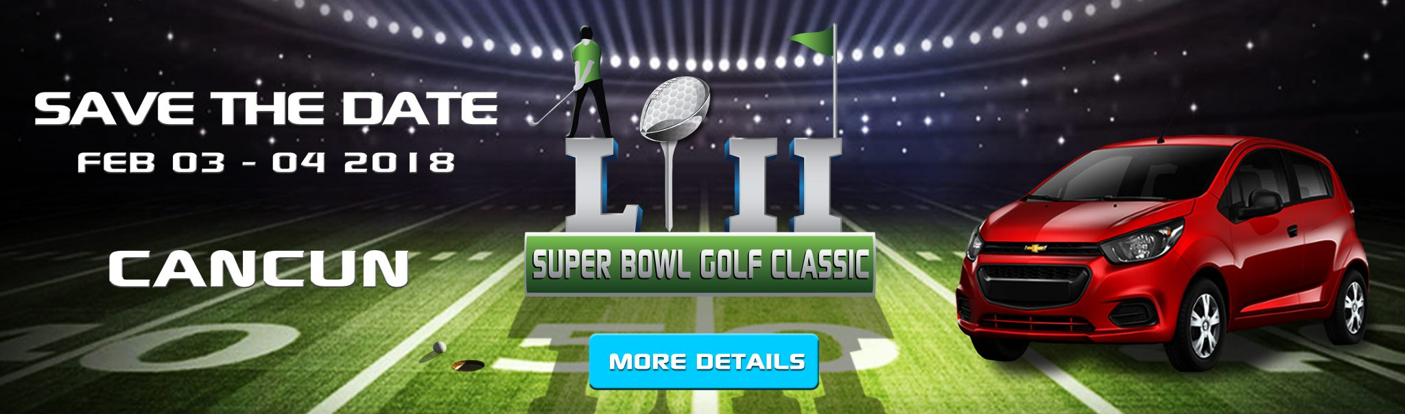 Super Bowl Golf Classic Cancun 2018